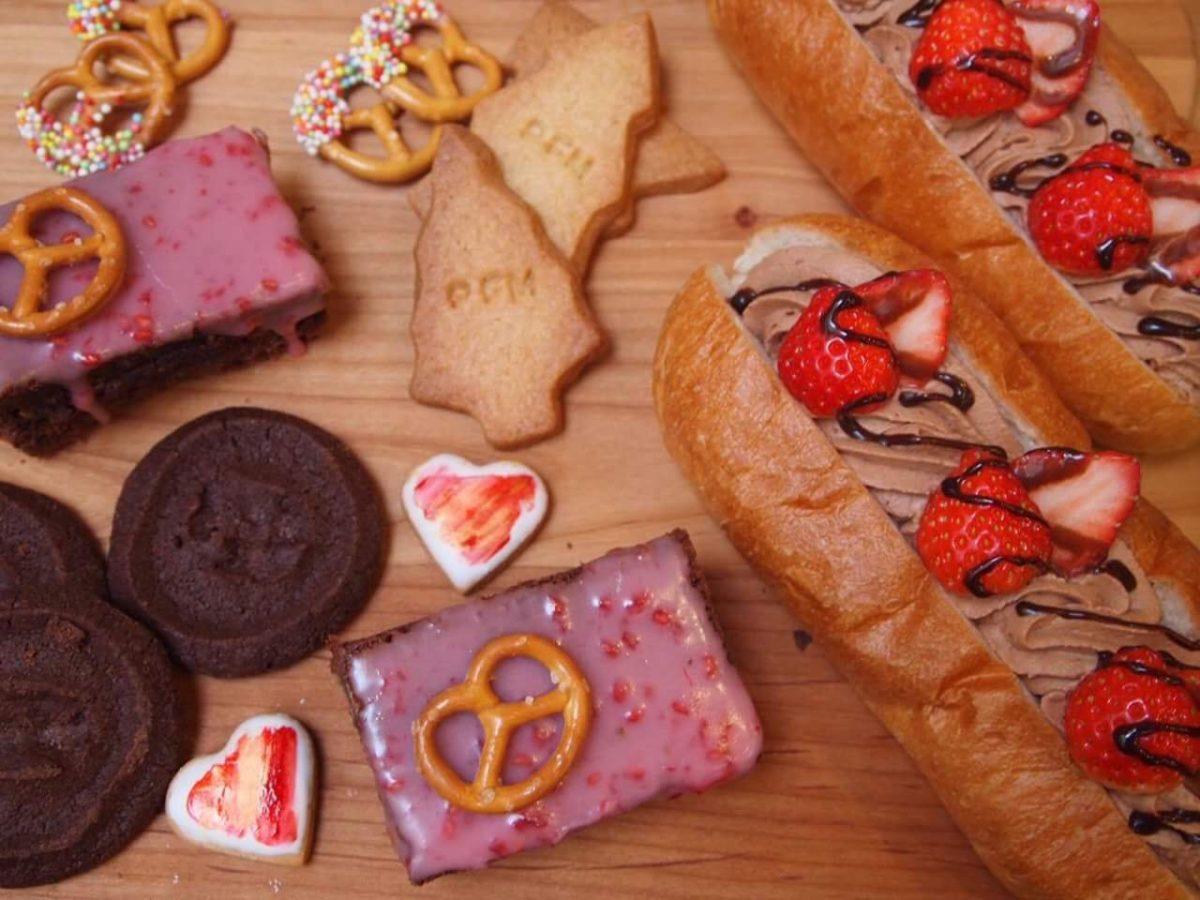 ♡ドキドキの2月♡チョコレートがいっぱいです。