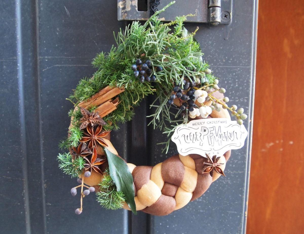 12月のワークショップは・・・『Bread Wreath』